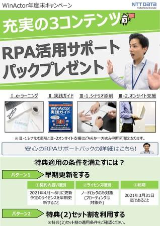 (3)RPA活用サポートパック